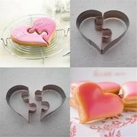 Nomnom Romantik Kalp Şeklinde Puzzle Kurabiye Kalıbı