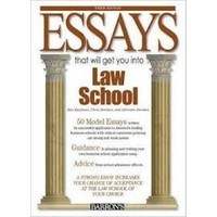 Essays That Will Get You İnto Law School