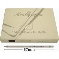 Montegrappa Mini Tükenmez Kalem Yedeği Siyah Ia00Bssc