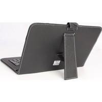 Çanta Shop Casper 8 İnçh Tüm Modellere Klavyeli Kılıf Çanta Siyah