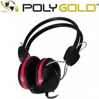 Polygold PG-6950 Mikrofonlu Bilgisayar Kulaklığı