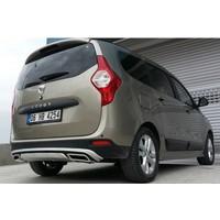 Boostzone Dacia Lodgy Arka Tampon Difizör