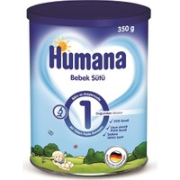 Humana 1 Metal Kutulu Bebek Sütü 350 gr