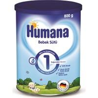 Humana 1 Metal Kutulu Bebek Sütü 800 gr