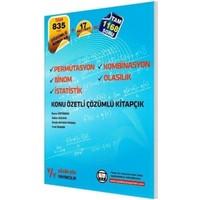 Yüzde Yüz Yayıncılık Permütasyon Kombinasyon Binom Olasılık İstatistik Konu Özetli Çözümlü Kitapçık