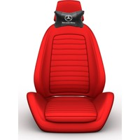 Simoni Racing Mercedes Logolu Ortopedik Deri Boyun Boşluğna Yastık SMN104056