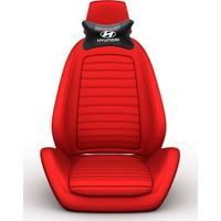 Simoni Racing Hyundai Logolu Ortopedik Deri Boyun Boşluğna Yastık SMN104070