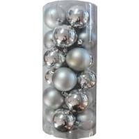 Partioutlet Büyük Toplar 24 Lü - Gümüş