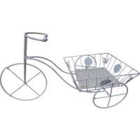 Partioutlet Ferforje Hasır Sepetli Bisiklet