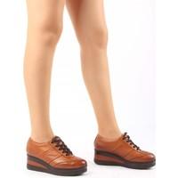 Gön Taba Antik Deri Kadın Ayakkabı 21011