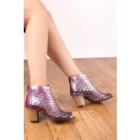 Gön Deri Kadın Ayakkabı 20375
