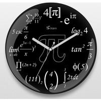 İf Dizayn İf Dizayn İleri Matematik Duvar Saati Siyah