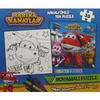Mega Oyuncak Harika Kanatlar 35 Parça Boyamalı Puzzle 8601