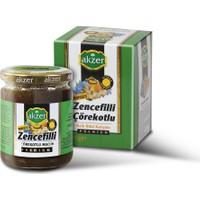 Akzer Zencefilli Çörekotlu Macun Premıum 210 Gr