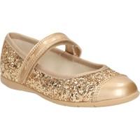 Clarks Dance Idol Pre Kız Çocuk Babet Altın