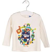 Tuc Tuc Kız Çocuk Uzun Kollu T-Shirt, Drakkar Beyaz