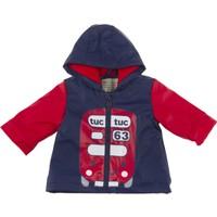 Tuc Tuc Erkek Çocuk Yağmurluk, British Lacivert - Kırmızı