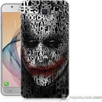 Teknomeg Samsung Galaxy J7 Prime Kapak Kılıf Joker Baskılı Silikon