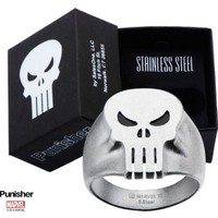 Body Vibe Marvel Punisher Skull Yüzük