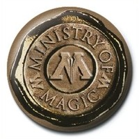 Pyramid International Rozet Harry Potter Ministry Of Magic Seal