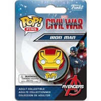 Funko Pop Rozet Captain America 3 Iron Man