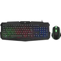 Gamemax FK-G440QU Gaming Işıklı Kablolu Klavye & Mouse Set