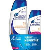 Head & Shoulders 2'si 1 Arada Şampuan Erkeklere Özel Saç Dökümelerine Karşı 2'li Paket (550 ml + 360 ml)