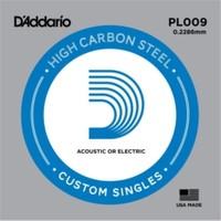 Daddarıo Pl009 Elektro Tek Tel Plain Steel 009 Mi Teli