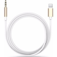 Microcase Apple iPhone 7 - 7 Plus Lightning to 3.5 mm Aux Ses Aktarım Kablosu