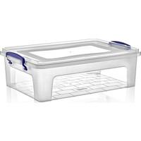 Dünya Plastik 10 lt Clear Box Saklama Kutusu
