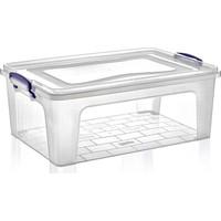 Dünya Plastik 21 lt Clear Box Saklama Kutusu