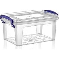 Dünya Plastik 1,75 lt Derin Clear Box Saklama Kutusu