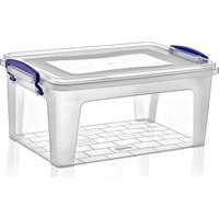 Dünya Plastik 9 lt Derin Clear Box Saklama Kutusu