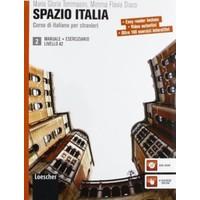 Spazio Italia Manuale 2 +Eserciziario Con Dvd-Rom
