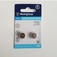 Westinghouse 48 Adet AG12,LR43 Alkalin Saat Pili