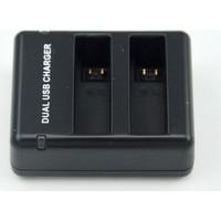 Knmaster Gopro Hero 4 Uyumlu Çift Batarya Sarj Aleti