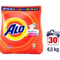 Alo Toz Çamaşır Deterjanı Beyazlar ve Renkliler İçin 4.5 kg
