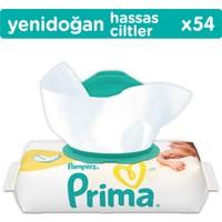 Prima Yenidoğan Islak Havlu Hassas Ciltler İçin Tekli Paket (54 Yaprak)