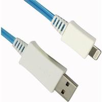 Vcom Cu273fl-L Iphone 5 1Mt Mavi Işıklı Data Kablo