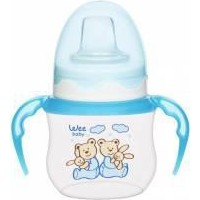 Wee Baby Baby Akıtmaz Kulplu Pp Bardak 125Ml - Mavi