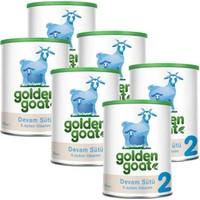 Golden Goat 2 Keçi Sütü Bazlı Devam Sütü 400 gr - 6'lı