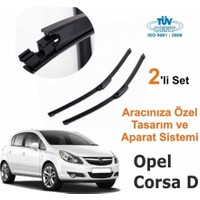 Carub Opel Corsa D Araca Özel Silecek Takımı 400Mm-650Mm (Sağ-Sol)
