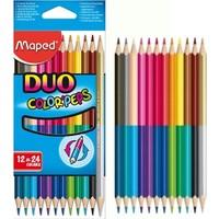 Maped Çift Uçlu Kuru Boya 24 Renk 829600