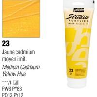 Pebeo Studio Akrilik Boya 100 Ml Medium Cadmium Yellow -23