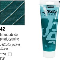 Pebeo Studio Akrilik Boya 100 Ml Phthocyanine Green -42