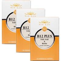 Newlife B12 Plus 60 Tablet 3 - Adet