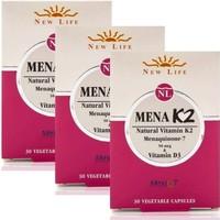 Newlife Mena K2 30 Tablet - 3 Adet