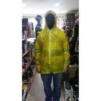 Prc Yağmurluk Üst Sarı Fermuarlı