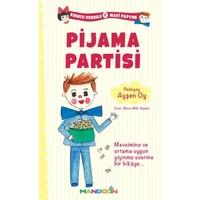 Kırmızı Kurdele Mavi Papyon 2-Pijama Partisi
