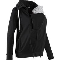 Bpc Bonprix Collection Kadın Siyah Hamile Bebek Koruma Detaylı Sweat Ceket